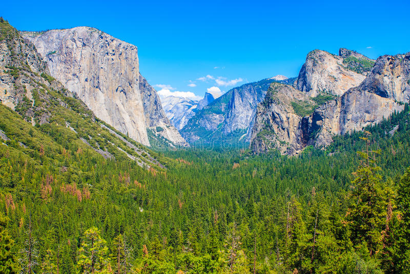 EL Capitan, εθνικό πάρκο Yosemite στοκ εικόνα
