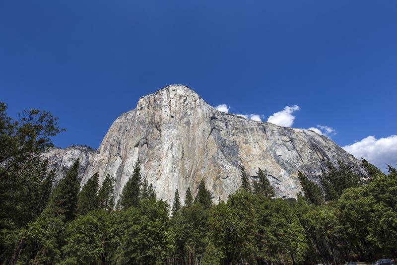 El Capitan, национальный парк Yosemite, Калифорния, США стоковая фотография rf