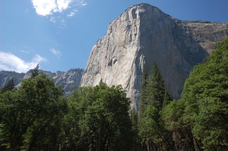 El Capitan. Mountain in Yosemite National Park royalty free stock photography