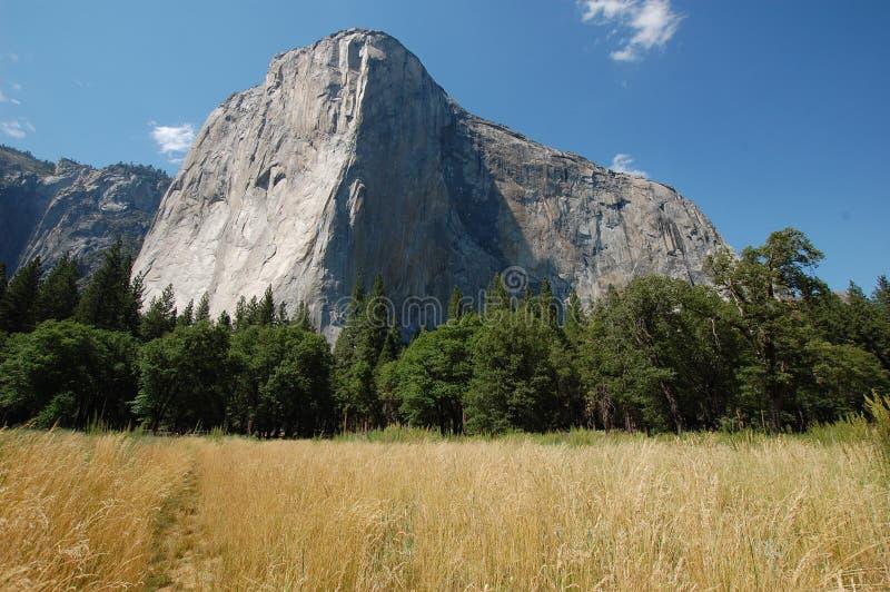El Capitan. Mountain in Yosemite National Park stock photography