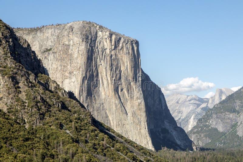 EL Capitan no parque nacional de Yosemite - Califórnia, EUA imagens de stock