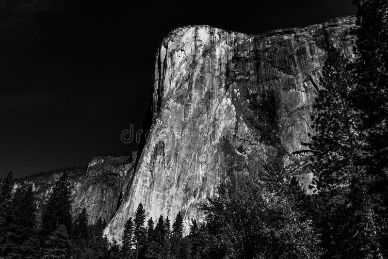 EL Capitan, parque nacional de Yosemite foto de stock royalty free