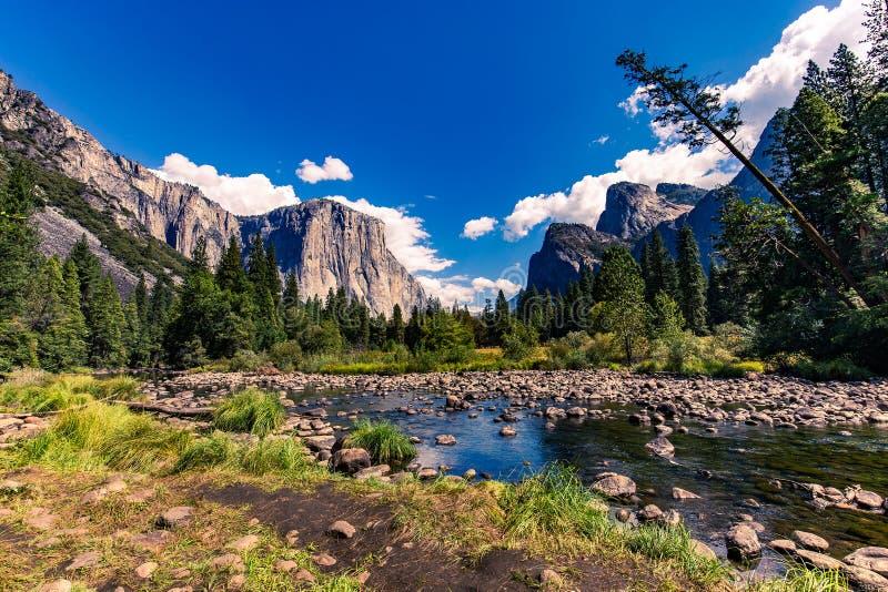 EL Capitan, parque nacional de Yosemite fotos de stock royalty free