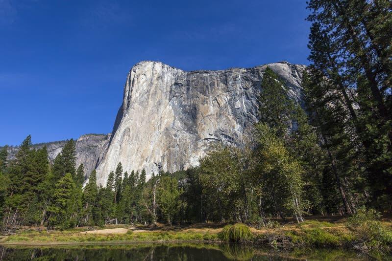 EL Capitan, parque nacional de Yosemite, Califórnia, EUA fotografia de stock