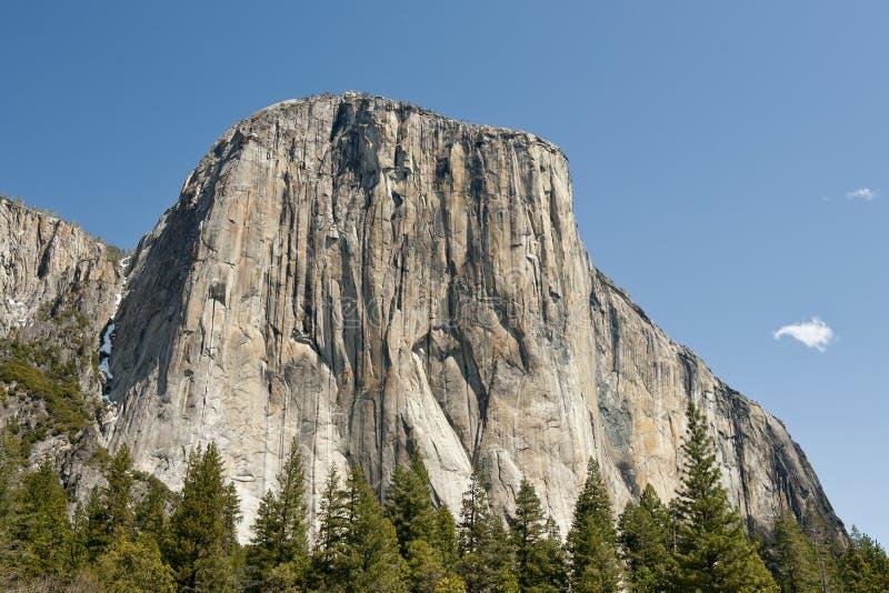 El Capitan in Yosemite. Valley National Park stock photos