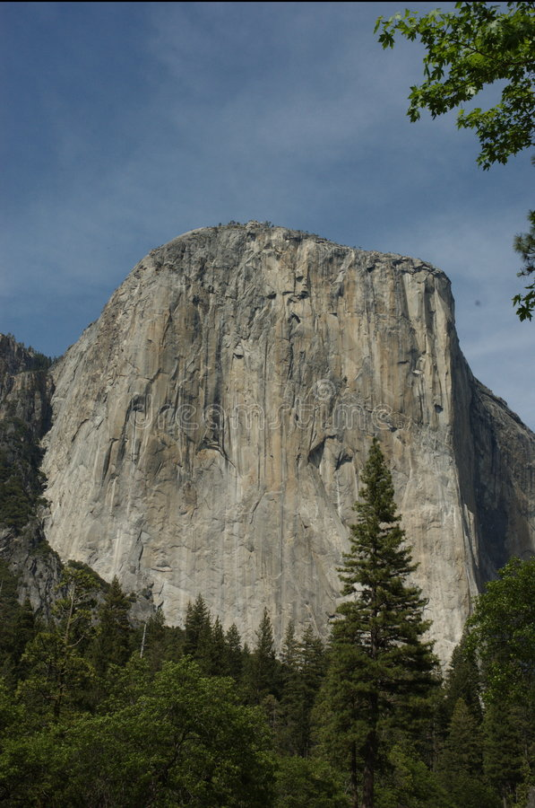 EL Capitan, Yosemite fotografia stock libera da diritti