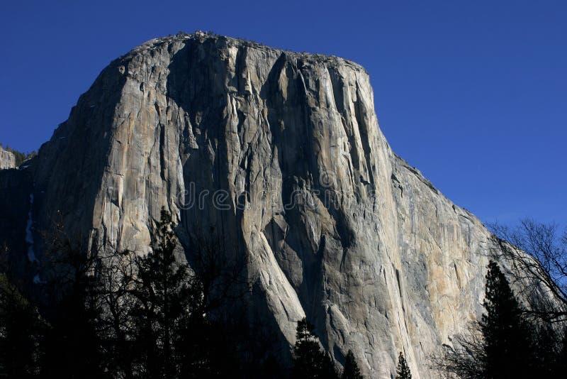 El Capitan in Yosemite royalty free stock image