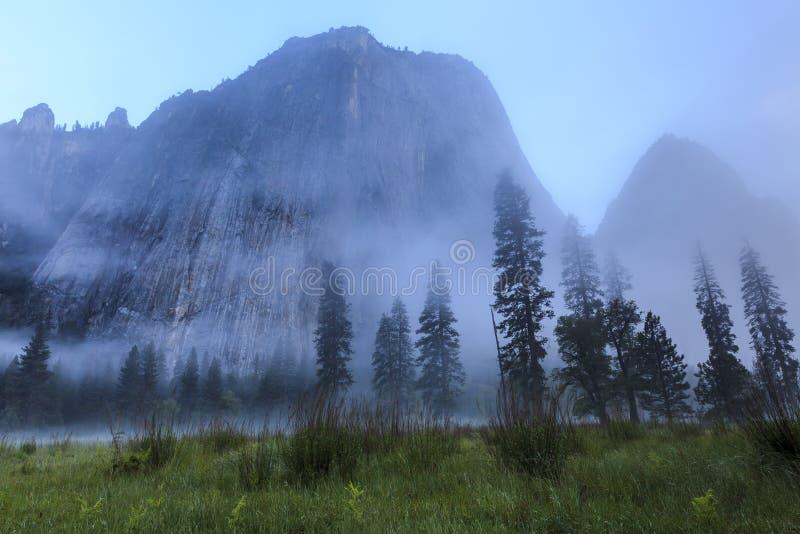 El Capitan Yosemite royalty free stock photos