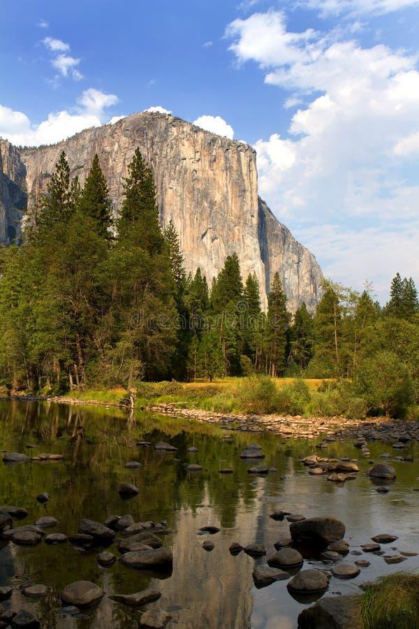 El Capitan Yosemite park narodowy Kalifornia zdjęcie royalty free
