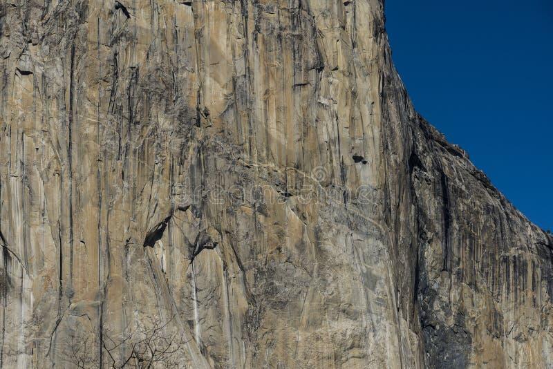 El Capitan, Yosemite parka narodowego usa zdjęcie stock