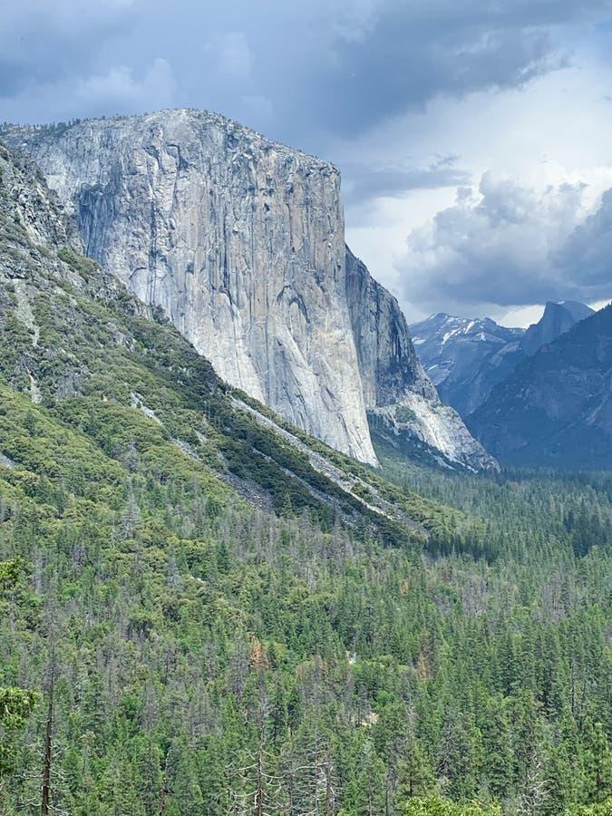 El Capitan. Yosemite Valley Rock El Capitan stock image