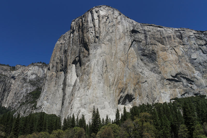 El Capitan, Yosemite royalty free stock photos
