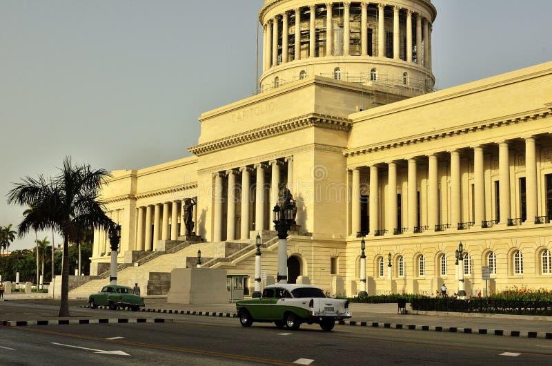 el capitolio Cuba X obraz royalty free