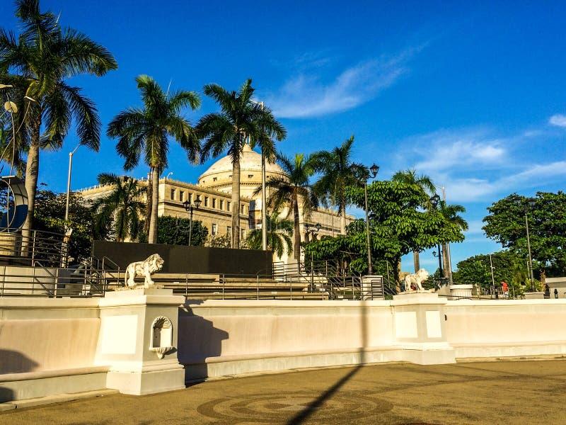 EL Capitolio, el capitolio de Puerto Rico foto de archivo libre de regalías