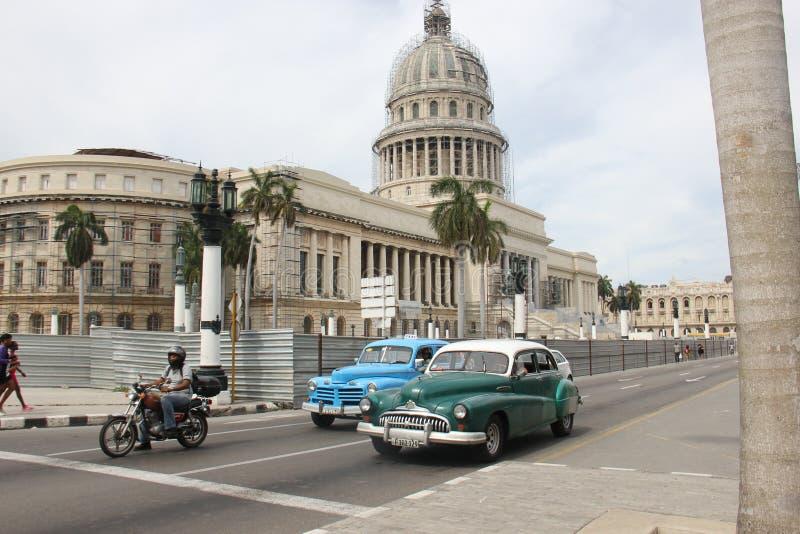 EL Capitolio, o edificio del capitolio nacional en La Habana, Cuba foto de archivo libre de regalías