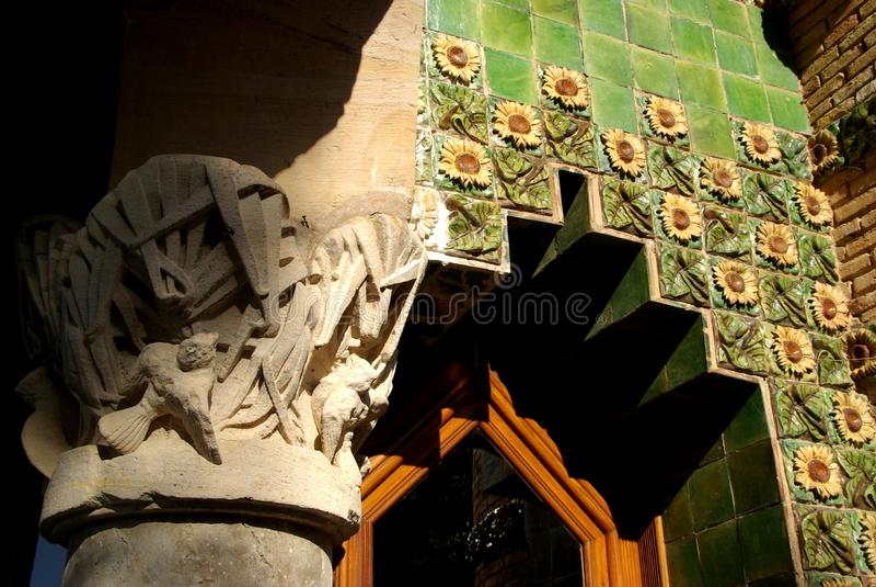 EL Capricho από Gaudi στοκ εικόνες με δικαίωμα ελεύθερης χρήσης