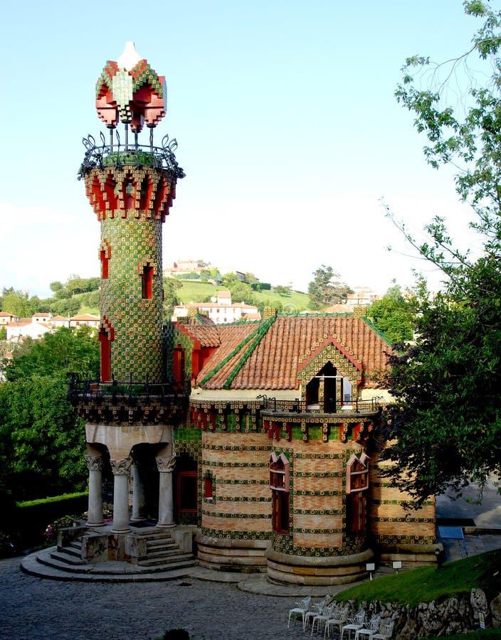 EL Capricho από Gaudi στοκ φωτογραφία