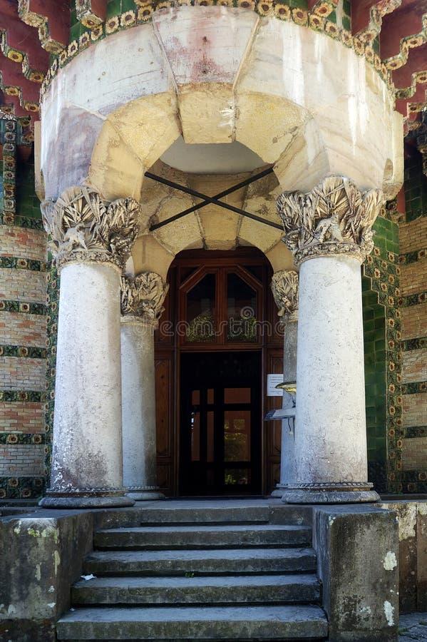EL Capricho, Comillas, Cantabria, España imágenes de archivo libres de regalías