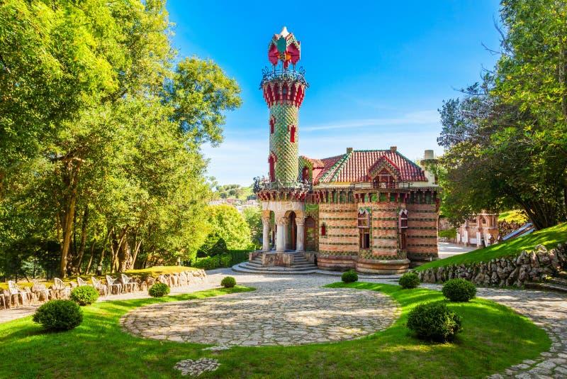 EL Capricho en Comillas, España imagen de archivo libre de regalías