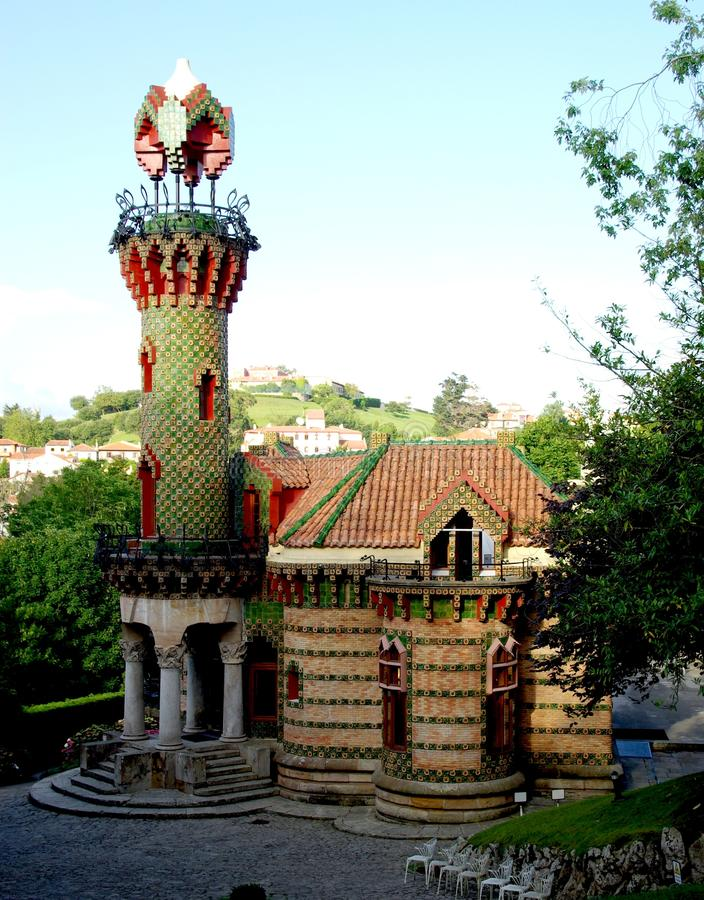 Download El Capricho By Gaudi Stock Photo Image Of Architect