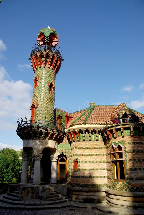 EL Capricho par Gaudi photo stock