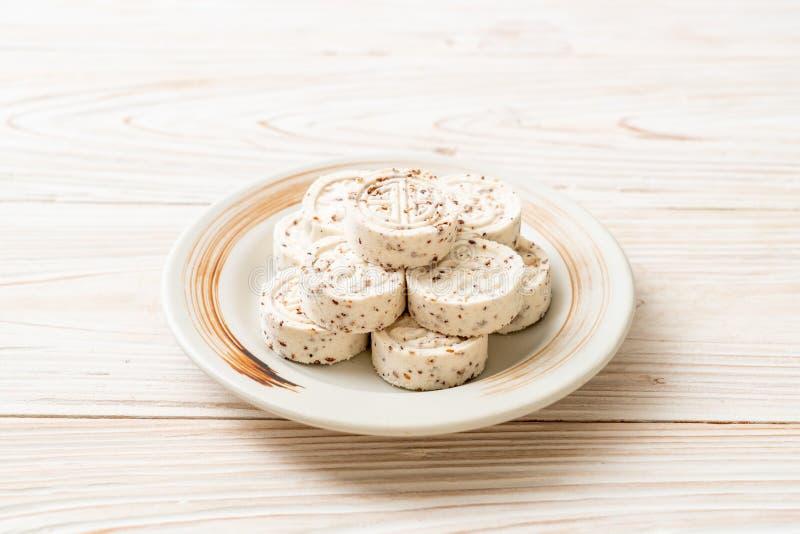 El caramelo chino hizo de harina de arroz imagenes de archivo