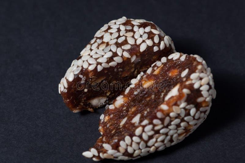 El caramelo hecho a mano cortado imágenes de archivo libres de regalías