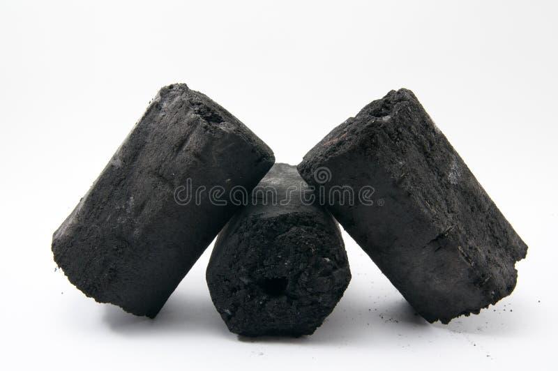 El carbón de leña foto de archivo libre de regalías