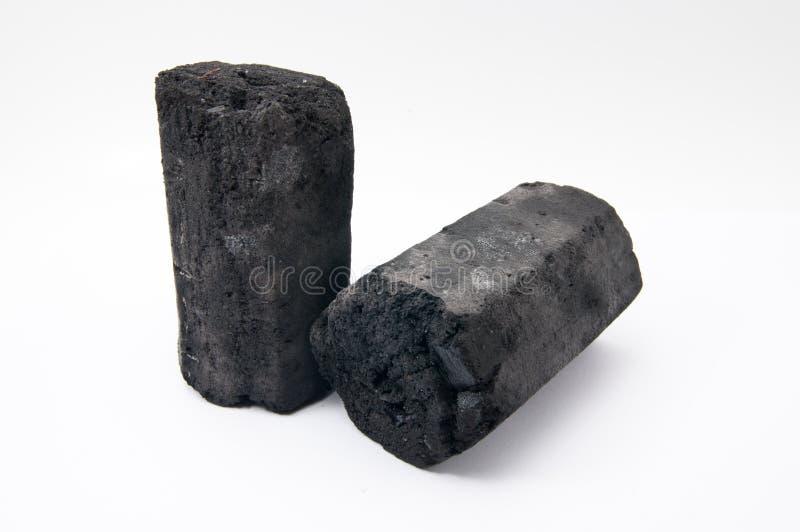 El carbón de leña fotografía de archivo libre de regalías