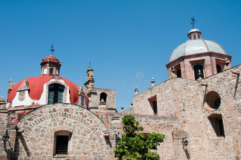 El Carmen Convent, Morelia (Mexico) royalty free stock photo
