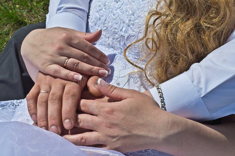El casarse en Siberia imagen de archivo libre de regalías