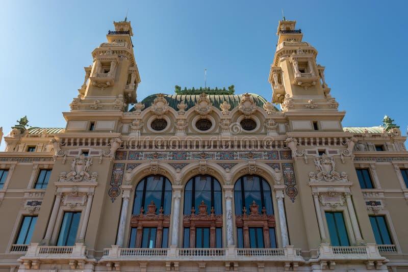 El casino de Monte Carlo fotos de archivo libres de regalías