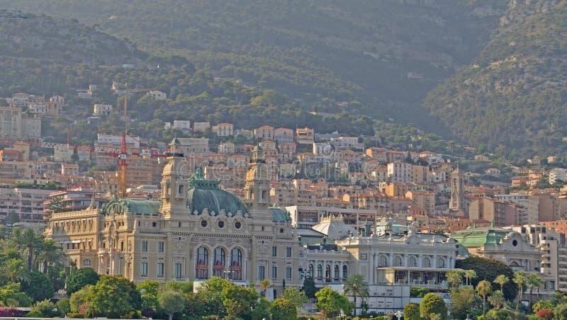 El casino del puerto, Mónaco, Tom Wurl foto de archivo