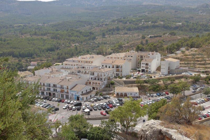 EL Castell de Guadalest imágenes de archivo libres de regalías