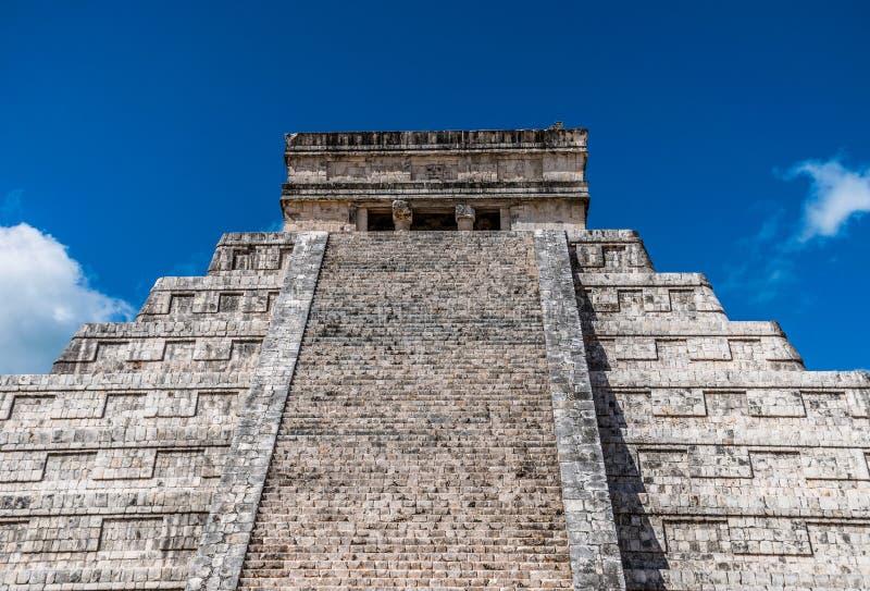El Castillo in Chichen Itza, Mexico royalty free stock photos