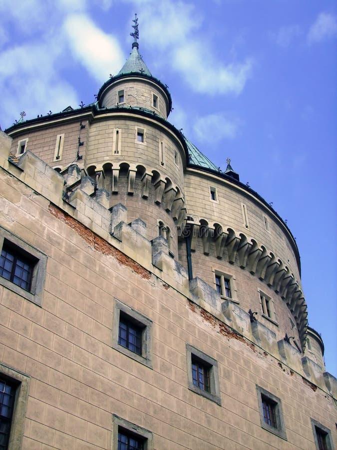 El castillo de Bojnice imágenes de archivo libres de regalías