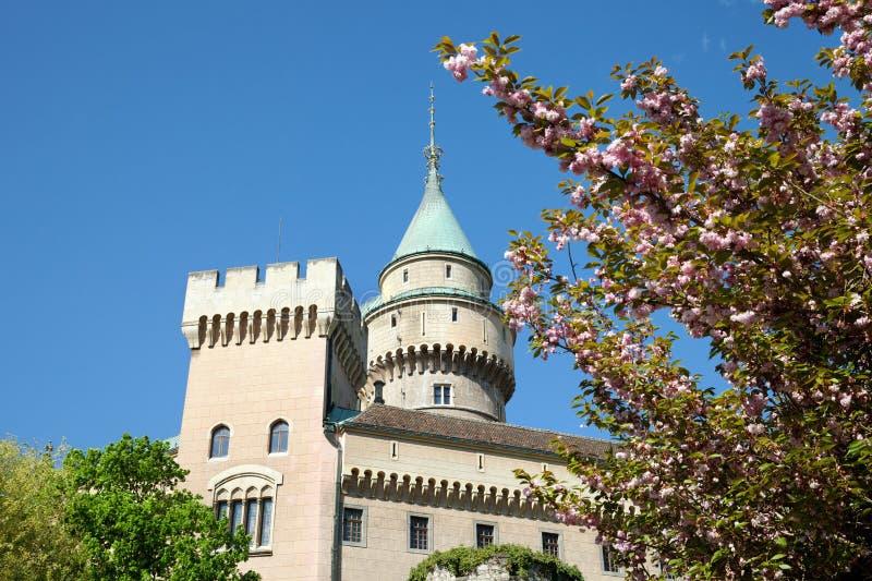 El castillo de Bojnice, Eslovaquia fotos de archivo libres de regalías