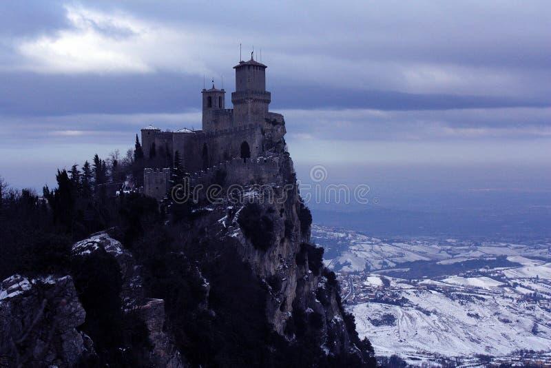 El castillo de brujas fotografía de archivo libre de regalías