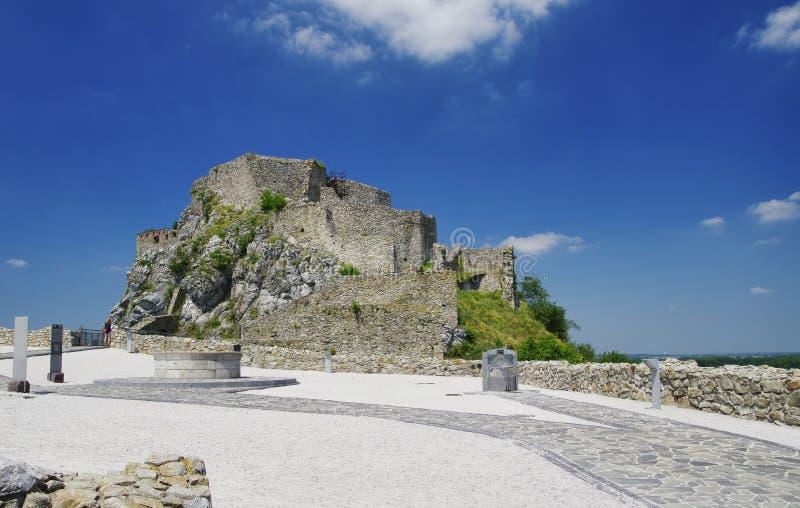 El castillo de Devin imagen de archivo libre de regalías