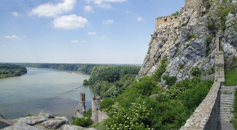 El castillo de Devin fotos de archivo libres de regalías