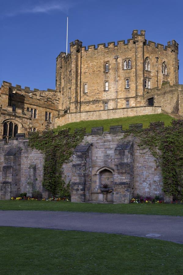 El castillo de Durham guarda foto de archivo libre de regalías