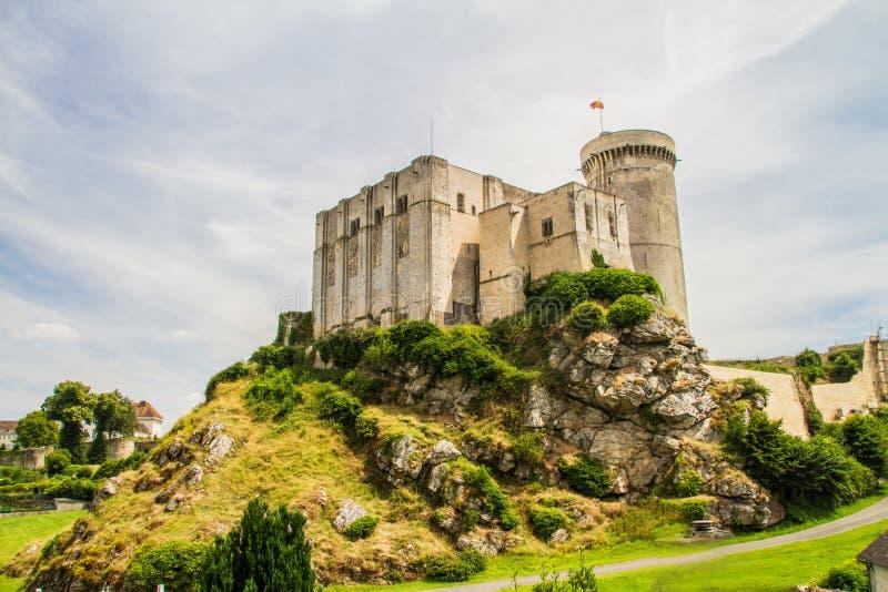 El castillo de Guillermo el conquistador foto de archivo