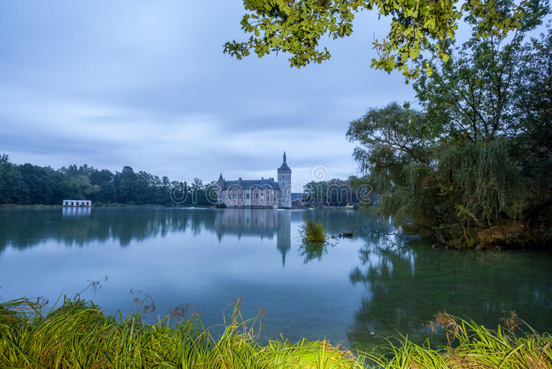 El castillo de Horst imagen de archivo