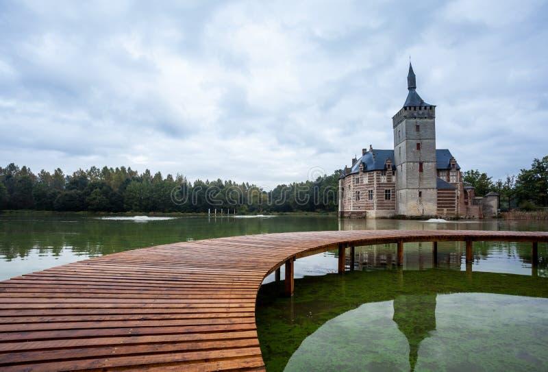 El castillo de Horst fotografía de archivo