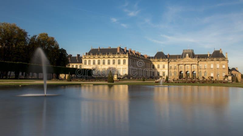 El castillo de Lunéville en Francia imagen de archivo