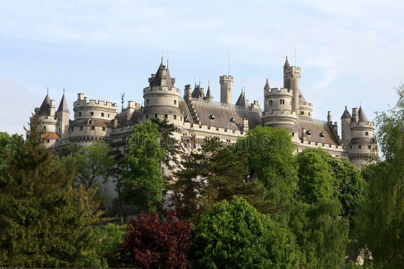 El castillo de Pierrefonds imagen de archivo libre de regalías