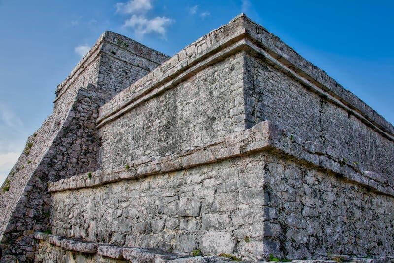 EL Castillo de pyramide image libre de droits