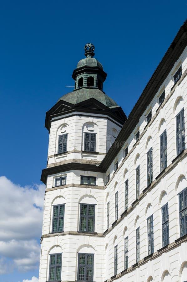 Torre del castillo de Skokloster imágenes de archivo libres de regalías