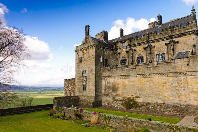 El castillo de Stirling guarda imagen de archivo libre de regalías