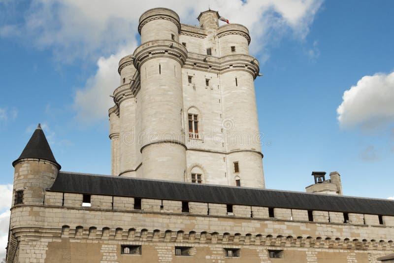 El castillo de Vincennes, París, Francia imágenes de archivo libres de regalías